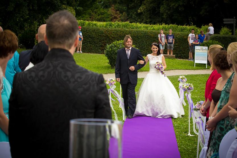 Hochzeit auf der Burg Crass in Eltville am Rhein