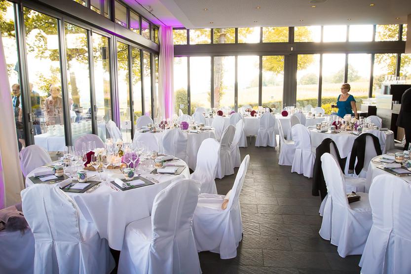 Hochzeit auf der Burg Schwarzenstein in Geisenheim