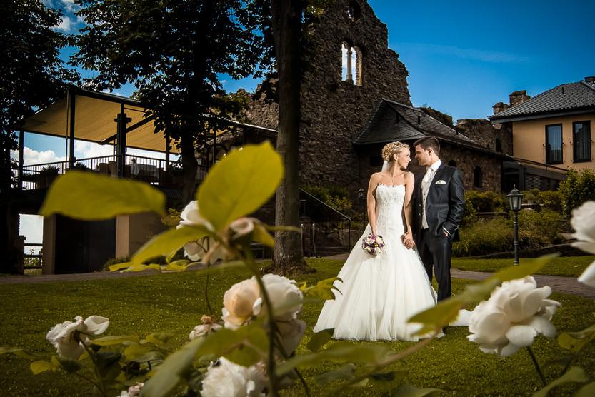Hochzeit auf Burg Schwarzenstein in Geisenheim Rheingau