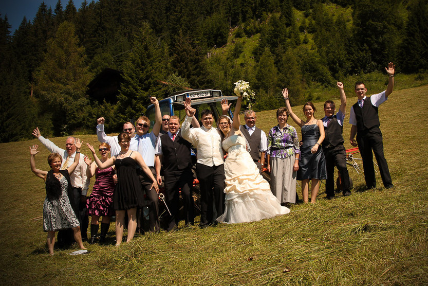 Hochzeit in den Kitzbühler Alpen